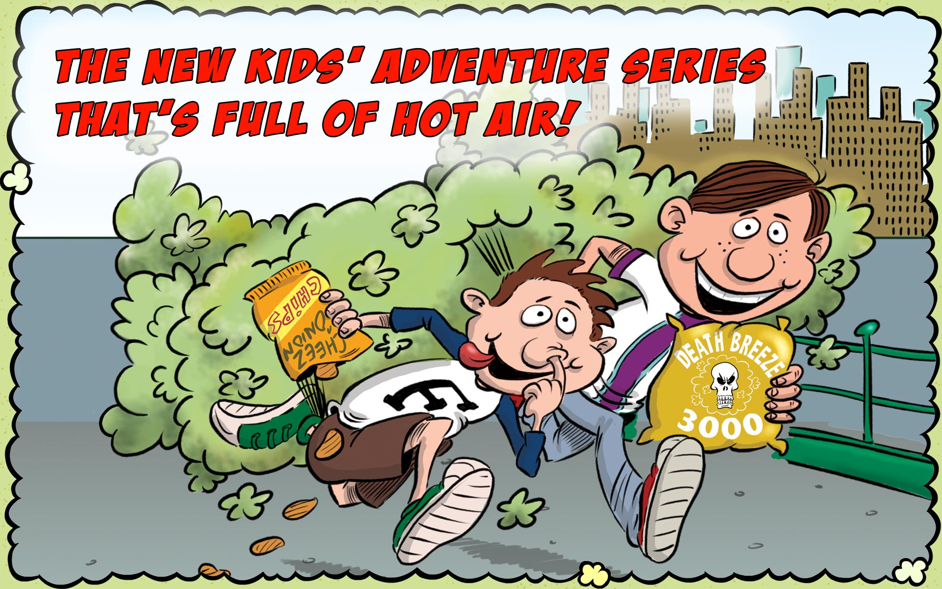 The stinky new adventure series for kids