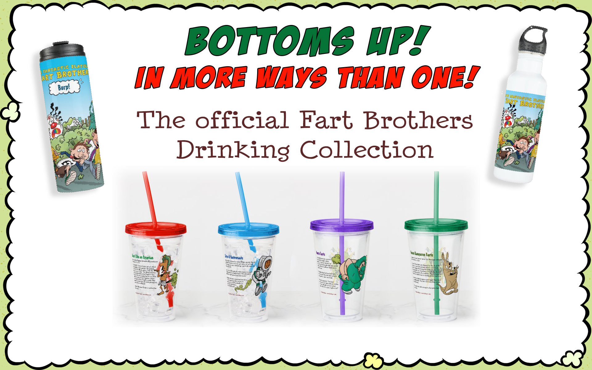 Fart Brothers Drink Collection